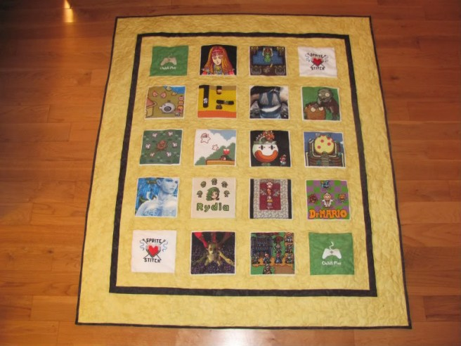 childs play charity auction cross stitch quilt 2011 2