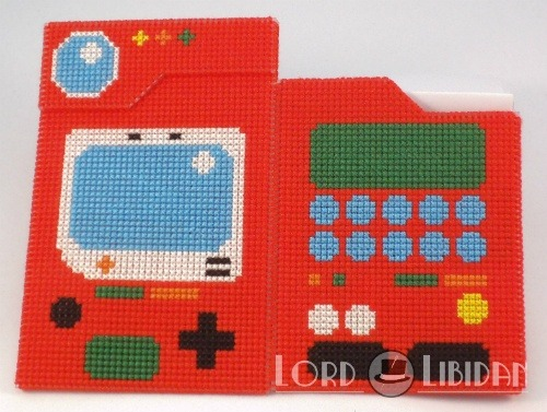 3D Pokedex Cross Stitch