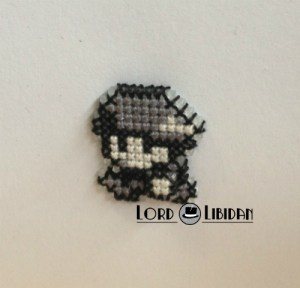 3D Pokemon Character Cross Stitch