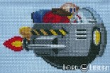 Dr Robotnik Cross Stitch