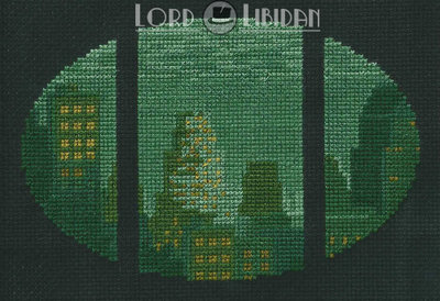 Big Daddy Rapture Cross Stitch