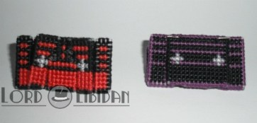3D Transforming Tapes - Ratbat & Laserbeak Cross Stitches