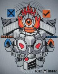 Portal Tattoo Stitch Cross Stitch