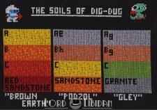 The Soils Of Dig Dug Cross Stitch