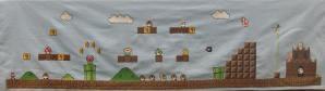 Mario Level Cross Stitch by sgoheen06 (source: deviantart.com)