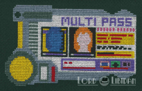 Fifth Element Multipass Cross Stitch