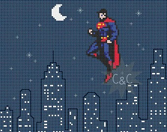 superman-cross-stitch-pattern