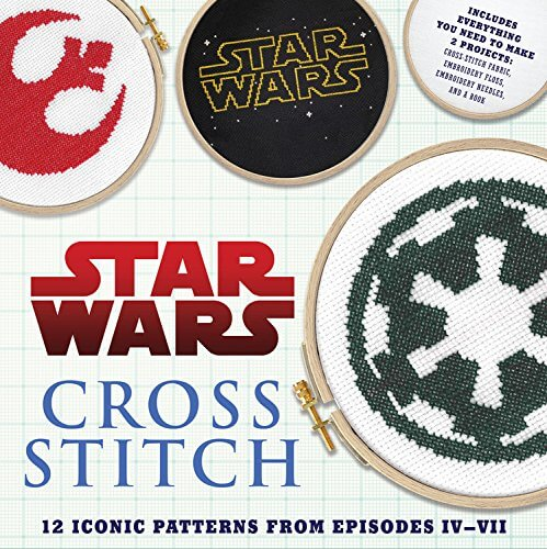 Star Wars Cross Stitch Book by Lord Libidan Alternative Cover (source: Amazon)