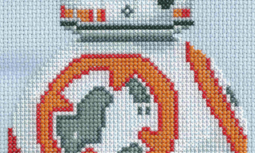 Star Wars BB-8 Cross Stitch by Lord Libidan