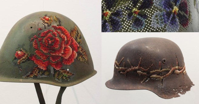 Cross Stitch- Helmets by Severija (source: mrxstitch.com