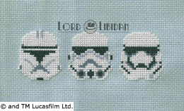 Star Wars Troopers Cross Stitch