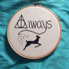 always harry potter cross stitch