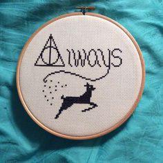always harry potter cross stitch