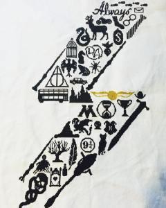 Sampler Harry Potter Cross Stitch