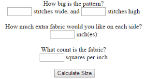 123stitch cross stitch calculator