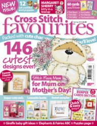 cross stitch favourites magazine cover