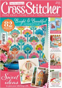 cross stitcher magazine cover