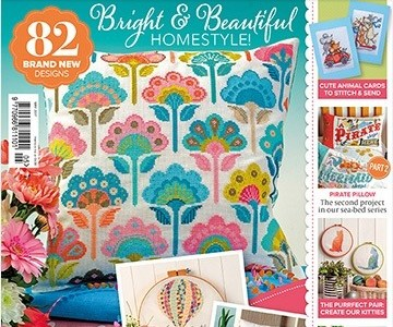CrossStitcher Magazine Cover Issue 317 (source: crossstitchermag.co.uk)