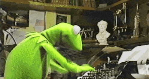 kermit writing
