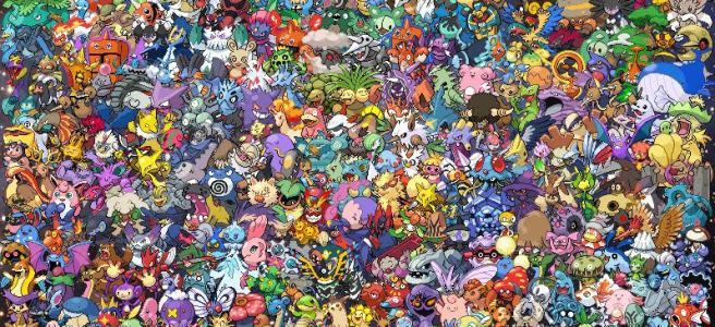 epic pokemon all generations cross stitch pattern
