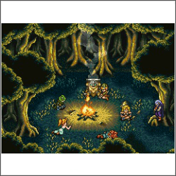 chrono trigger fire free cross stitch pattern