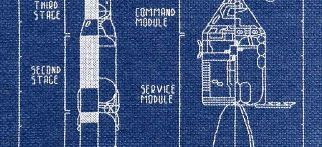 Saturn 5 cross stitch by Lord Libidan fan made (source: twitter.com)