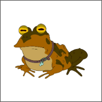 free futurama hypnotoad cross stitch pattern