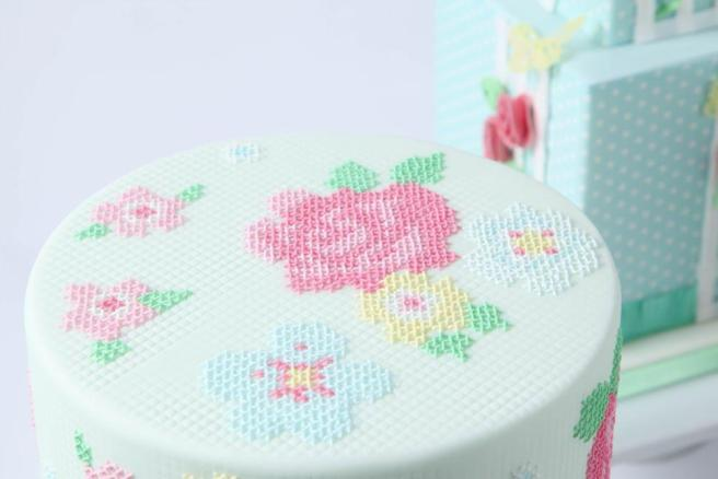 Zoe Clark Cross Stitch Cake (source: zoeclarkcakes.com)