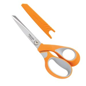 Fiskars RazorEdge Soft Grip Scissors (source: kreinik.com)