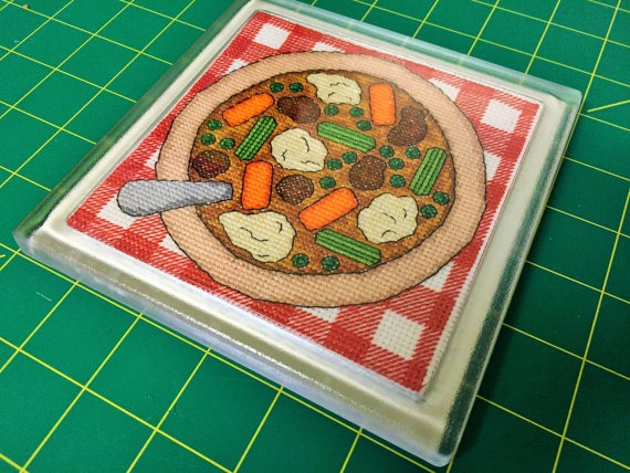Stew cross stitch placemat by RogueStitchery (source: Etsy)