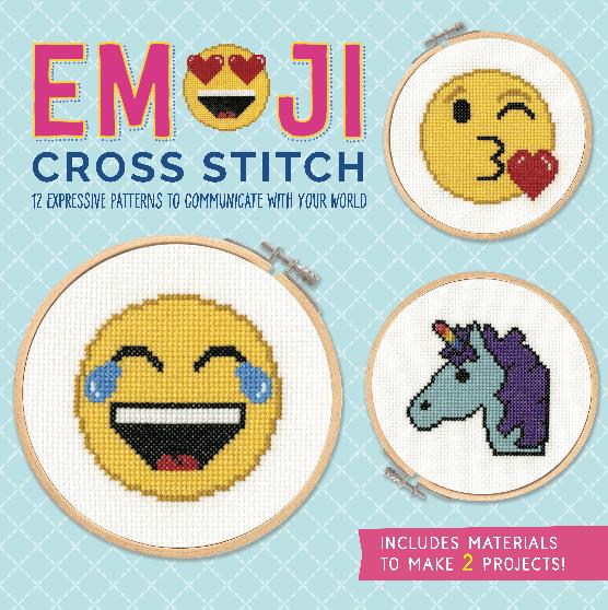 Emoji Cross Stitch Box Cover