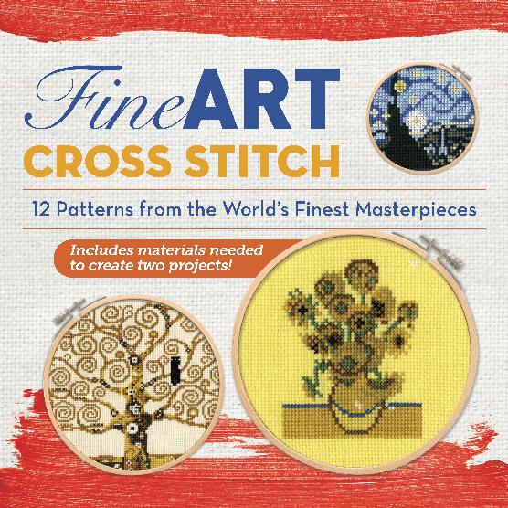 Fine Art Cross Stitch Box Cover