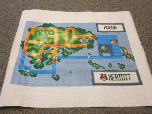 hoenn pokemon map cross stitch by merichan27
