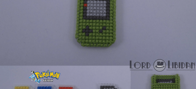 Gameboy Color Cross Stitch by Lord Libidan