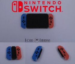nintendo switch cross stitch by Lord Libidan