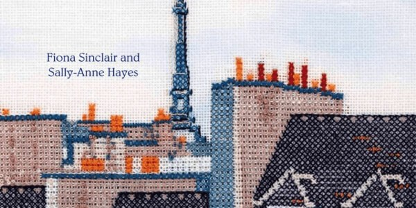 Criss Crossing Paris by Fiona Sinclair and Sally-Anne Hayes Book Cover (source: amazon)