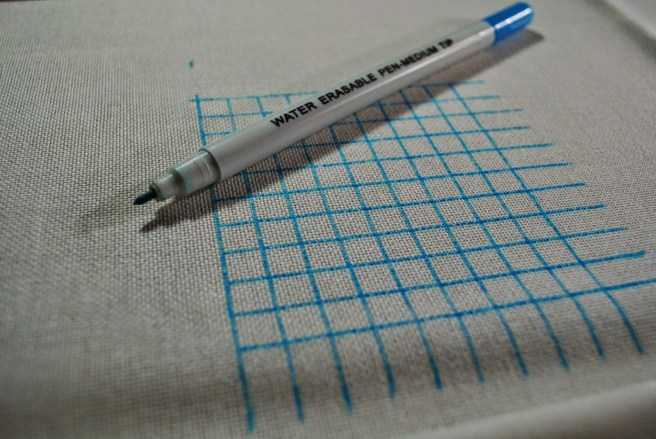 Pen grid cross stitch by pull the other thread (source: pulltheotherthread.blogspot.com)