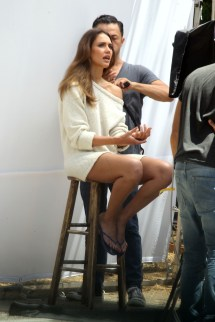 Foot Fetish Forum Jessica Alba' Bare Feet X 3