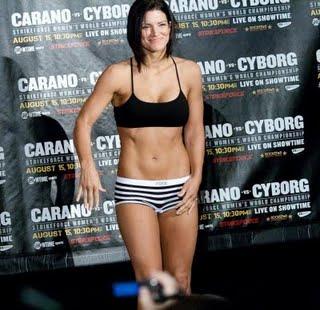 Gina Carano | Lord N's MMA Blog