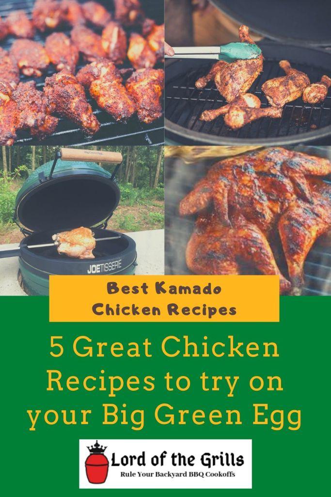 Kamado Chicken Recipes