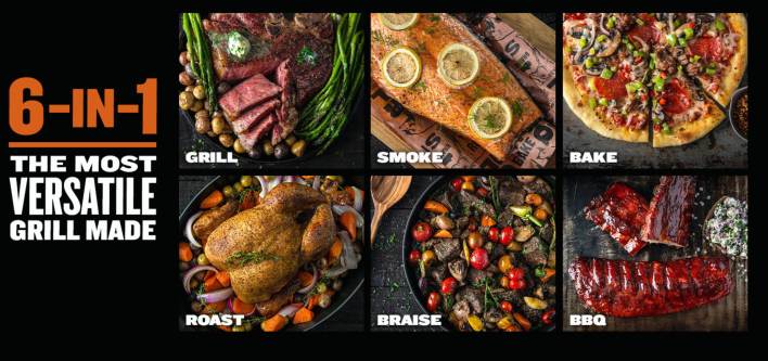 Traeger Grill 6-in-1 Grilling