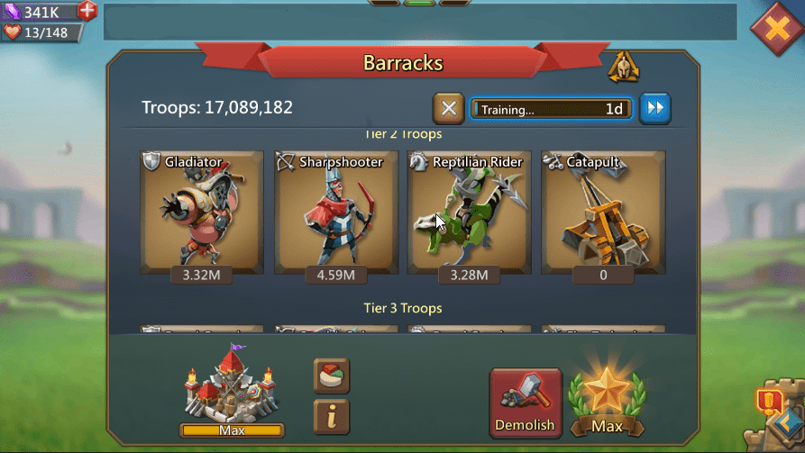 Lords Mobile Account For Sale $900 or best offer! - Lord's Gems