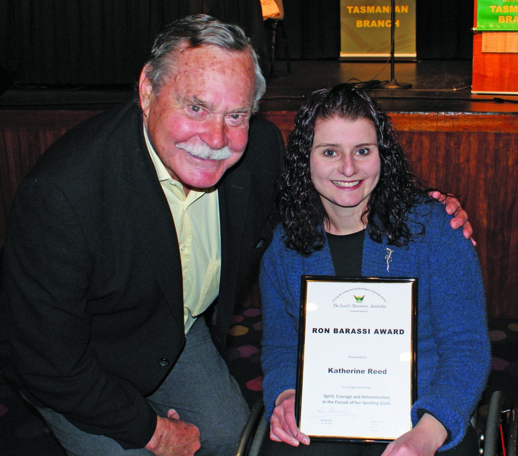 Ron Barassi Award Photo
