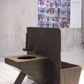 pig Toilet Cube design museum
