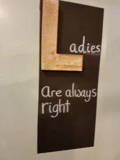 ladies right