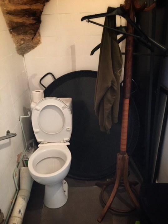 paellapan en wc