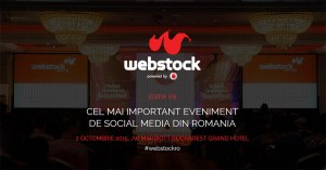 Sunt blogger acreditat la Webstock 2015!