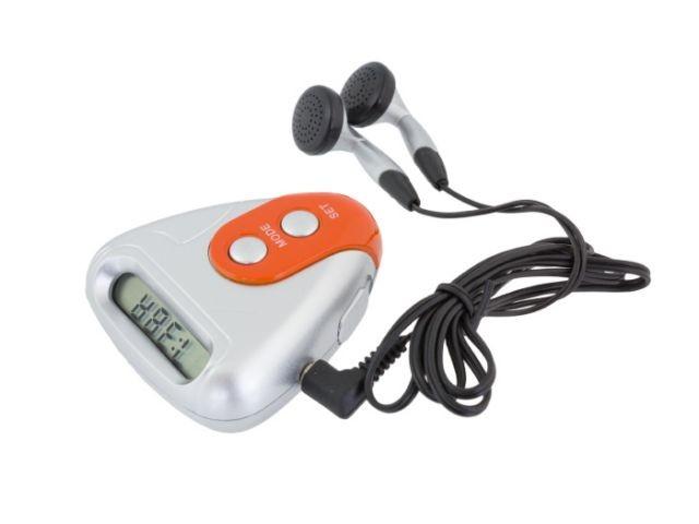 Radio cu Pedometru si Calculator Calorii