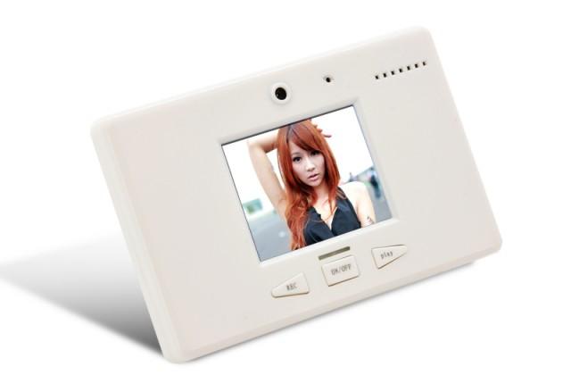 Magnet de frigider cu inregistrare video