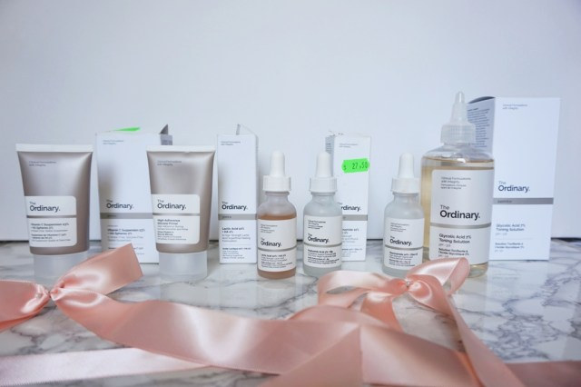 Produsele mele The Ordinary